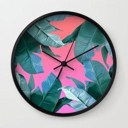 Tropical Dream Wall Clock
