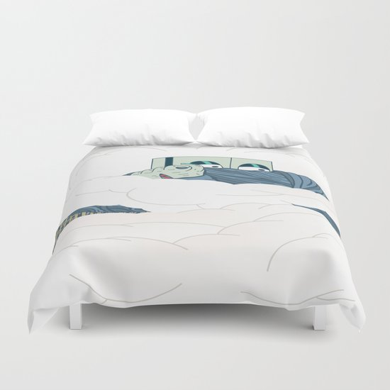 Riots Duvet Cover