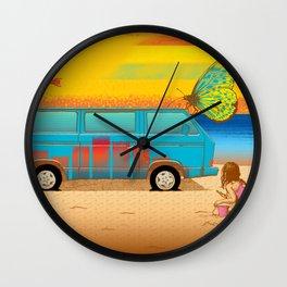 Beach Trip Wall Clock