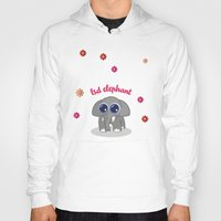 lsd Hoodies featuring LSD Elephant by flydesign