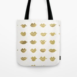 Kiss Collection – Gold Ink Tote Bag