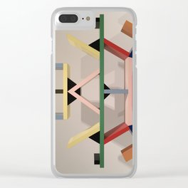 Sculpt This Clear iPhone Case