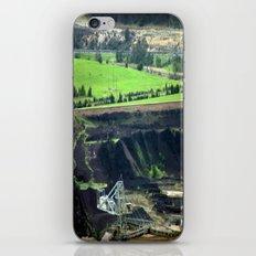 Black Coal ~ World's Contaminator  iPhone & iPod Skin