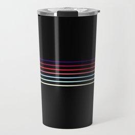 Pop Colored Fine Lines Travel Mug