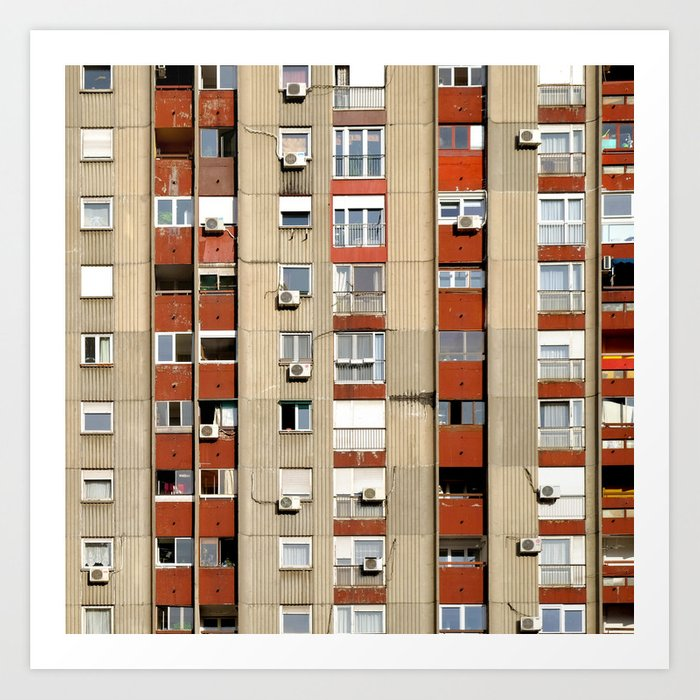 Belgrade | Takovska | color Art Print
