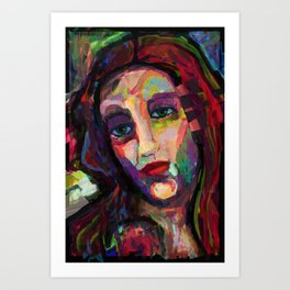 Venusian bride. Art Print