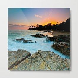 Laguna Beach Sunset 6/20/14 Metal Print