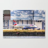 british Canvas Prints featuring British Airways  by David Pyatt
