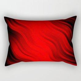 stripes wave pattern 7v2 ch Rectangular Pillow