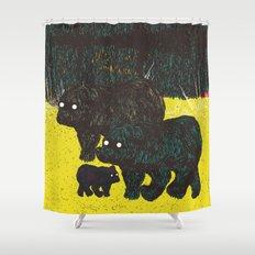 Wandering Bears Shower Curtain