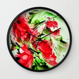 Buds  Wall Clock