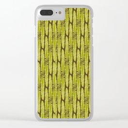 Hello Fern Clear iPhone Case