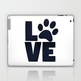Love Pets Paw Cat Dog Cute Laptop & iPad Skin