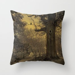 Silent Witness Throw Pillow