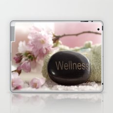 Bathroom Decoration with almond blossoms Laptop & iPad Skin