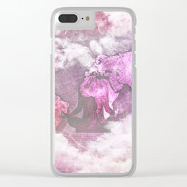 Map IV Clear iPhone Case
