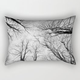 Routes To The Sky Rectangular Pillow