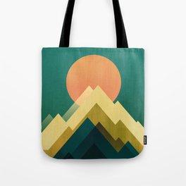 Gold Peak Tote Bag