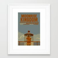 moonrise kingdom Framed Art Prints featuring Moonrise Kingdom by FunnyFaceArt