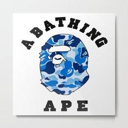 abathing bape Metal Print