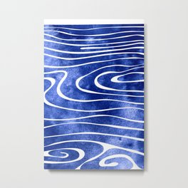 Tide VIII Metal Print