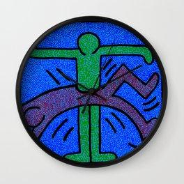 Keith Haring Humans Wall Clock