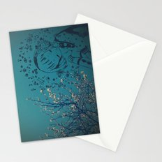 Sounds of new spring Stationery Cards