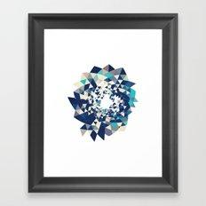 Datadoodle Burst Framed Art Print