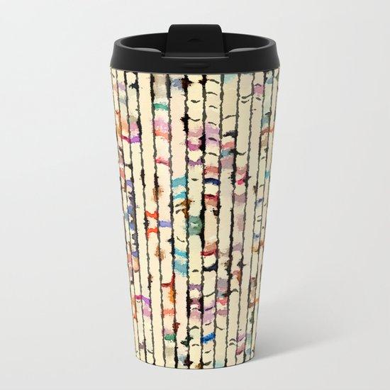 Pattern S/S Metal Travel Mug