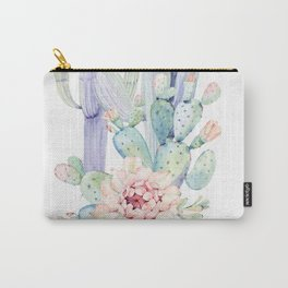 Mixed Cacti 2 #society6 #buyart Carry-All Pouch