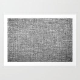 Canvas texture fashion design Art Print