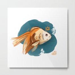 King of Fish Metal Print