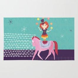 Circus Girl Rug