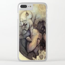 Destructive Division Clear iPhone Case