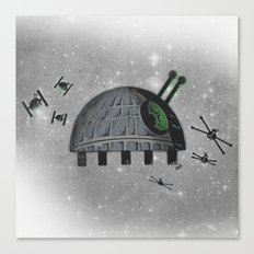 Death Star Bug Canvas Print