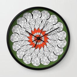 Sunpetal Wall Clock