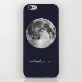 Full Moon on Navy Latin iPhone Skin