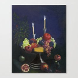 Romantic Repast   Canvas Print