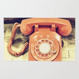 Vintage Phone Rug