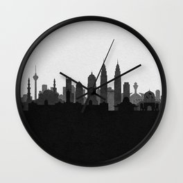 City Skylines: Kuala Lumpur Wall Clock