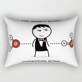 Hydrogen Bond Rectangular Pillow