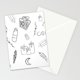 Witchy Stuff Stationery Cards