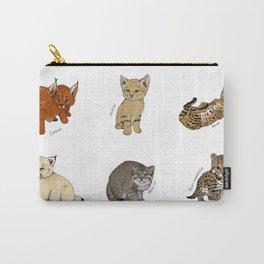Kittens Worldwide Carry-All Pouch