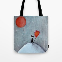 Reflection | Illustration by Angelique Desiree Tote Bag