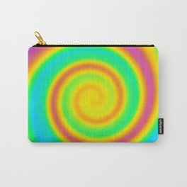 Magical Swirly Rainbow Design! Carry-All Pouch