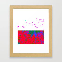 crystallize 7 Framed Art Print