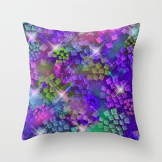 Stained Glass look Series 2 Throw Pillow