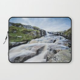 Waterfall on the East Dart River Laptop Sleeve
