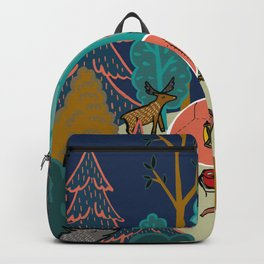 Welcome to Our Place in the Woods Backpack