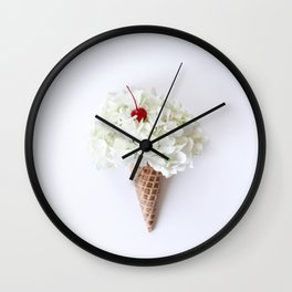 Flower Cone Wall Clock